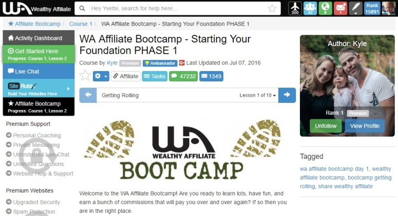 WA boot camp image